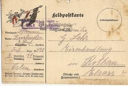 Allemagne 1912 - Feldpostkarte - Entier En Franchise Militaire -  3ème Infanterie, Régiment 428 à Rothau Elsass - Allemagne