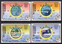 Tuvalu 1982 Amatuku Maritime School Set Of 4, MNH, SG 180/3 (BP2) - Tuvalu