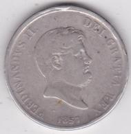 Regno Delle Due Sicilie 120 Grana 1857 Ferdinando II, En Argent - Regional Coins