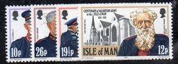 ISOLA DI MAN 1983 , Unificato Serie N. 215/218  ***  MNH . - Isola Di Man