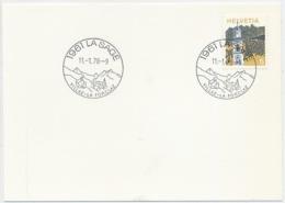 K682 - LA SAGE - Wallis - Auf Neutraler Karte - Marcophilie