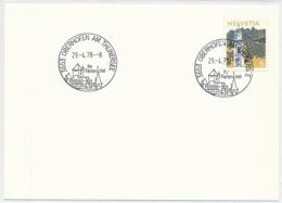 K689 - OBERHOFEN AM THUNDERSEE - Bern - Auf Neutraler Karte - Marcophilie
