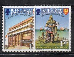 ISOLA DI MAN 1983 , Unificato Serie N. 237/238  ***  MNH . - Isola Di Man