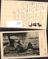 355017,Künstler Ak Millet Le Repos Au Milieu Du Jour Mann Raucht Pfeife Rauchen - Ansichtskarten