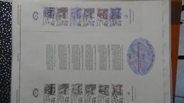 Lot De 34 Documents Philatéliques De 1985 Côte Catalogue 2003 : 391 Euros.PORT 8.95€ OFFERT. A Saisir !!! - Timbres
