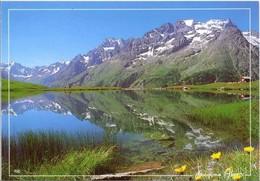 Thèmes. Autres. Paysage De Montagne Lac Automne & Lac Montagne & Route Eneigée & Route Blanche Poligny - Ansichtskarten