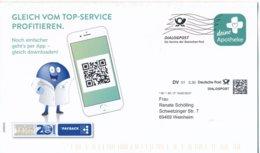 BRD Dialogpost DV 01 0,30 Euro FRW 2020 Deine Apotheke Payback QCR - Code - Covers