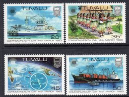 Tuvalu 1983 Commonwealth Day Set Of 4, MNH, SG 213/6 (BP2) - Tuvalu