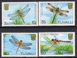 Tuvalu 1983 Dragonflies Set Of 4, MNH, SG 217/20 (BP2) - Tuvalu