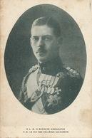 Grece Sa Majesté Le Roi Des Hellènes Alexandre Edit Pallis Athènes . King . Royalty - Grecia