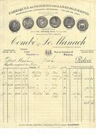 75.- COMBE & LE MANACH Fabrique De Soieries Pour Ameublement - Straßenhandel Und Kleingewerbe