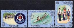 Tuvalu 1983 Boys Brigade Centenary Set Of 3, MNH, SG 221/3 (BP2) - Tuvalu