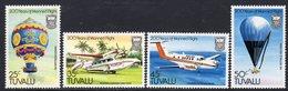 Tuvalu 1983 Bicentenary Of Manned Flight Set Of 4, MNH, SG 225/8 (BP2) - Tuvalu