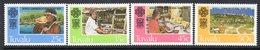 Tuvalu 1983 World Communications Year Set Of 4, MNH, SG 230/3 (BP2) - Tuvalu