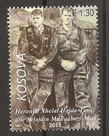 KOSOVO 2018,ARMY HEROES, Xhelal Hajda-Toni & Selajdin Mullaabazi,MNH - Kosovo