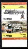 Tuvalu 1984 Railway Locomotives $1 Pair, Wmk. Error, MNH, SG 267/8 (BP2) - Tuvalu