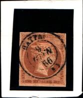10276) 1863-68 Greece/Grecia, 1 Lepta Bistro Chiaro - N° 18- USATO- - Oblitérés