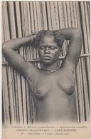 Cote D'ivoire Toumodi Femme Seins Nue - Costa D'Avorio