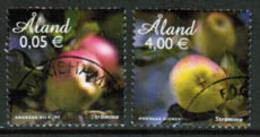 2011 Aland  Islands Apples Used. - Aland