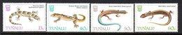 Tuvalu 1986 Lizards Set Of 4, MNH, SG 402/5 (BP2) - Tuvalu