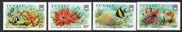 Tuvalu 1986 Coral Reef Life I Set Of 4, MNH, SG 437/40 (BP2) - Tuvalu
