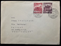 Germany, Circulated Cover From Rengersdorf To Salesel (Dolní Zálezly -CZ), 1941 - Collezioni