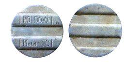 04291 GETTONE TOKEN JETON MOLDOVA TELEFONO TELEPHON MOLDOVA  MOLD TC - Unclassified