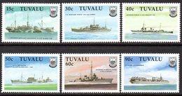 Tuvalu 1990 World War II Ships Set Of 6, MNH, SG 578/83 (BP2) - Tuvalu