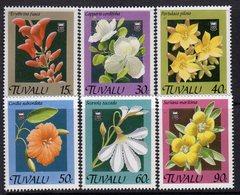 Tuvalu 1990 Flowers Set Of 6, MNH, SG 584/9 (BP2) - Tuvalu