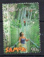 SAMOA - 2002 - PONT DE CORDES - ROPE BRIDGE - PONTS - BRIDGES - - Samoa