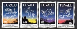 Tuvalu 1992 Pacific Star Constellations Set Of 4, MNH, SG 621/4 (BP2) - Tuvalu