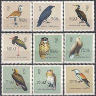 POLSKA - POLONIA - 1960 - Lotto Di 9 Valori Nuovi MNH: Yvert 1070/1077 E 1081. - 1944-.... Repubblica