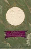 Gaufré Cp Vermählungsfeier Des Kronprinzen Paares, Kronprinz Wilhelm Von Preußen, Cecilie - Familles Royales