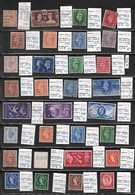 English Stamps 31 Pieces, EUR 27.40, 1924-53 (e 357) - Great Britain