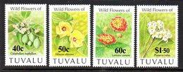 Tuvalu 1993 Flowers Set Of 4, MNH, SG 664/7 (BP2) - Tuvalu