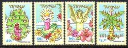 Tuvalu 1993 Christmas Set Of 4, MNH, SG 689/92 (BP2) - Tuvalu
