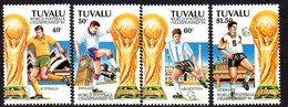 Tuvalu 1994 Football World Cup Set Of 4, MNH, SG 702/5 (BP2) - Tuvalu
