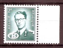BELGIE  Boudewijn Bril * S 59b  (3) * Postfris Xx * DIENSTZEGEL * DOF PAPIER - Service