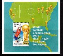 Tuvalu 1994 Football World Cup MS, MNH, SG 706 (BP2) - Tuvalu