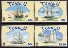 Tuvalu 1998 Ships V Set Of 4, MNH, SG 809/12 (BP2) - Tuvalu
