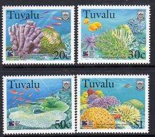 Tuvalu 1998 Coral Reef Life IV Set Of 4, MNH, SG 822/5 (BP2) - Tuvalu