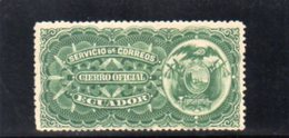 EQUATEUR 1896 * - Ecuador