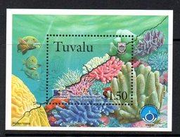 Tuvalu 1998 Coral Reef Life IV MS, MNH, SG 822/5 (BP2) - Tuvalu