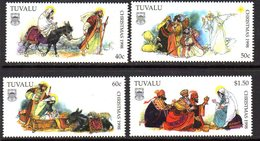 Tuvalu 1998 Christmas Set Of 4, MNH, SG 827/30 (BP2) - Tuvalu