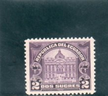 EQUATEUR 1920-4 * - Ecuador