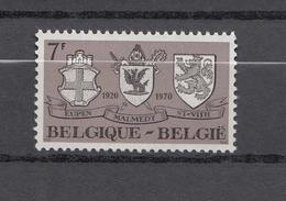 1970   N° 1566   NEUF**      CATALOGUE  YVERT&TELLIER - Belgique