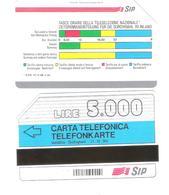Italy - Golden AA 5 - Südtirol - Alto Adige - Fasce Orarie 31.12.90 - 5000 L - Public Advertising