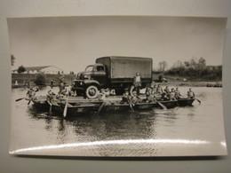 Vrachtwagen Per Vlot Vervoerd     Belgisch Leger Armee Belge - Manoeuvres