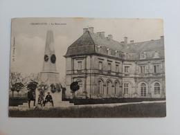Champlitte Le Monument Cachet Boîte Rurale Haute Saône France Comté - Altri Comuni