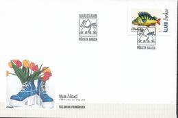 2012  Aland Mi  361 FDC  Meine Marke:  Barsch; Gemälde Von Caroline Af Ugglas - Aland